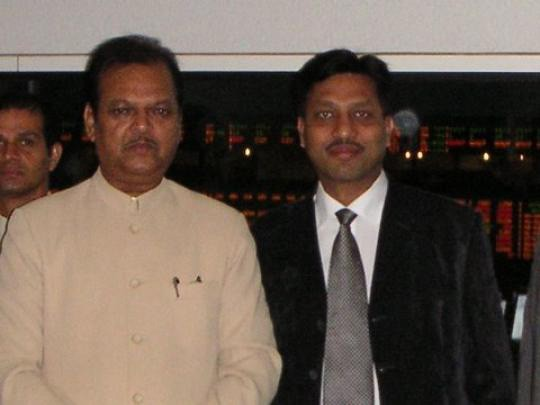 Delegation to USA with Food Processing Minister