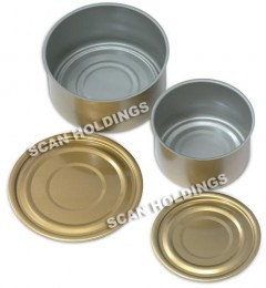 Steel DRD Cans (2 Piece)